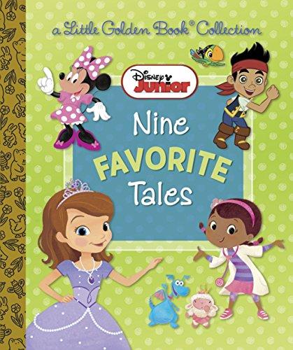 9780736432573: Disney Junior Nine Favorite Tales