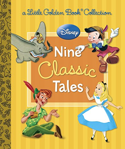 9780736432603: Disney: Nine Classic Tales (Little Golden Book Collection)
