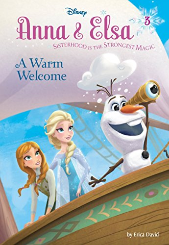 9780736432894: Anna & Elsa #3: A Warm Welcome (Disney Frozen)