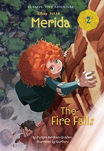 9780736432917: Merida #2: The Fire Falls (Disney Princess) (A Stepping Stone Book(TM))