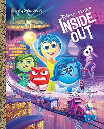 9780736433136: Inside Out Big Golden Book (Disney/Pixar Inside Out) (Big Golden Books)