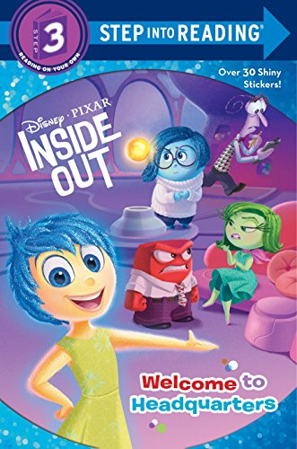 9780736433181: Welcome to Headquarters (Disney/Pixar Inside Out) (Step into Reading)