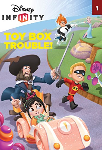 9780736433266: Toy Box Trouble! (Disney Infinity) (A Stepping Stone Book(TM))