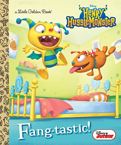 9780736433488: Fang-Tastic! (Disney Junior: Henry Hugglemonster) (Little Golden Book)