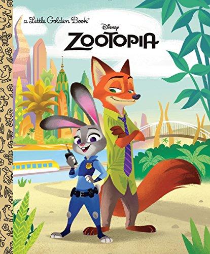 9780736433891: Zootopia Little Golden Book (Disney Zootopia)