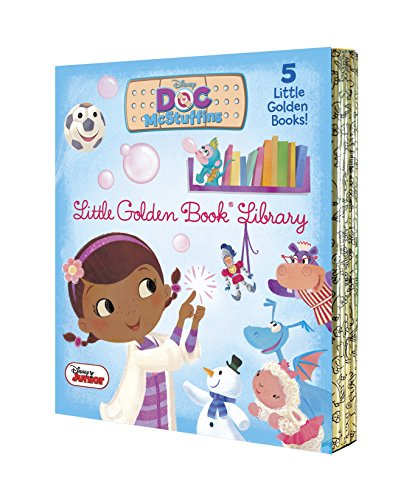 9780736434072: Doc McStuffins Little Golden Book Library (Disney Junior: Doc McStuffins)