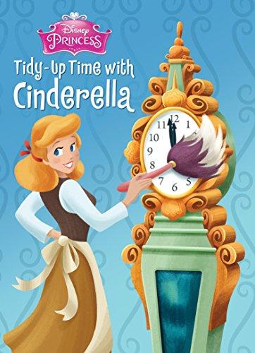 9780736434089: Tidy-Up Time with Cinderella (Disney Princess) (Board Book)
