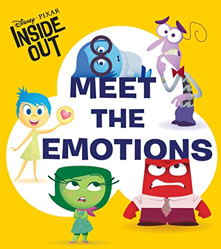 Inside Out Glow-in-the-Dark Board Book DisneyPixar Inside Out