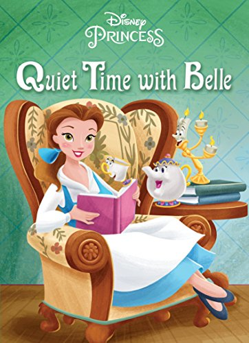 9780736434416: Quiet Time with Belle (Disney Princess)