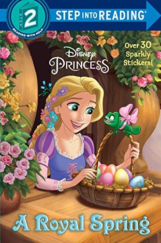9780736434522: A Royal Spring (Disney Princess) (Step into Reading)