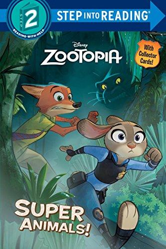 9780736434546: Super Animals! (Disney Zootopia) (Step into Reading)