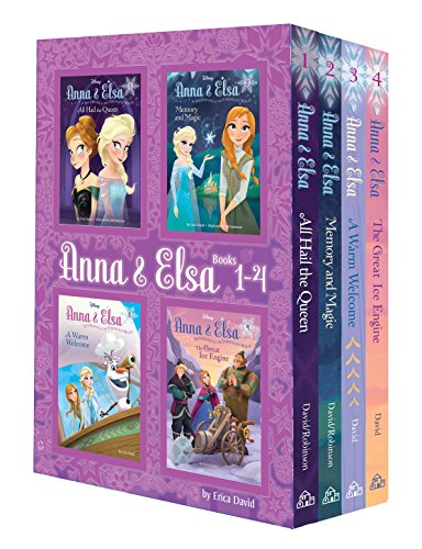 Anna & Elsa: Books 1-4 (Disney Frozen)