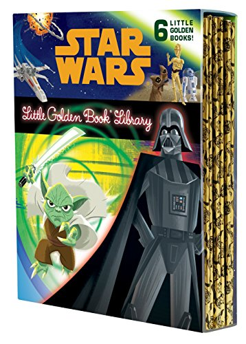 9780736434706: The Star Wars Little Golden Book Library (Star Wars) (Little Golden Book: Star Wars)