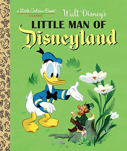 Little Man of Disneyland (Hardback): Rh Disney