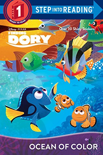 9780736435192: Ocean of Color (Disney/Pixar Finding Dory) (Step into Reading)
