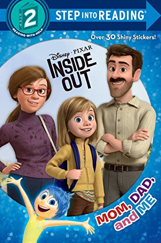 9780736435369: Mom, Dad, and Me (Disney/Pixar Inside Out)