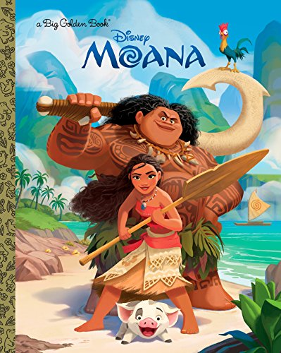 9780736436021: Moana Big Golden Book (Big Golden Books)