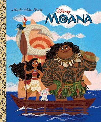 9780736436038: Moana Little Golden Book (Disney Moana) (Little Golden Books)