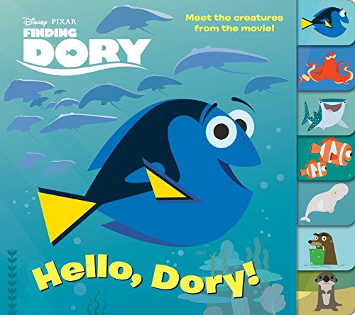 Finding Dory Glitter Lift-the-Flap Book (DisneyPixar Finding Dory)