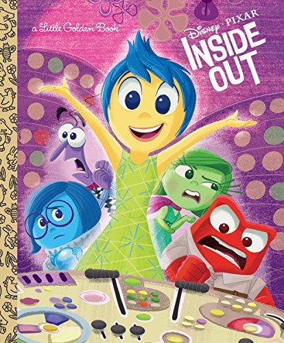 9780736436298: Inside Out (Disney/Pixar Inside Out) (Little Golden Book)