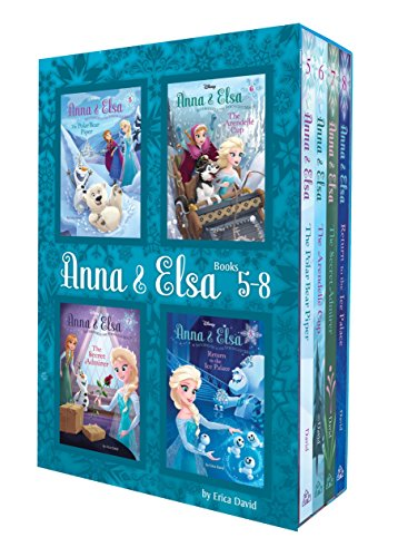 Anna & Elsa: Books 5-8 (Disney Frozen) (Disney Frozen Chapter Books)