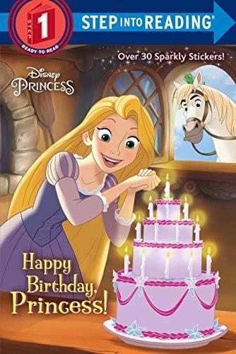 9780736436649: Happy Birthday, Princess! (Disney Princess) (Step into Reading)