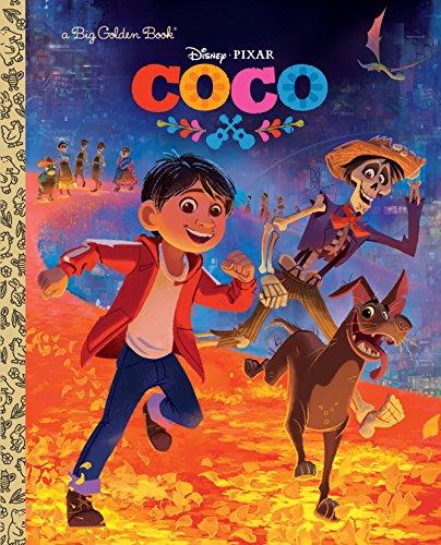 Coco Big Golden Book (Disney/Pixar Coco) (Hardback or Cased Book)
