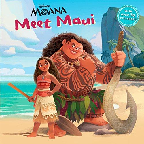 Meet Maui (DIsney Moana) (Pictureback )