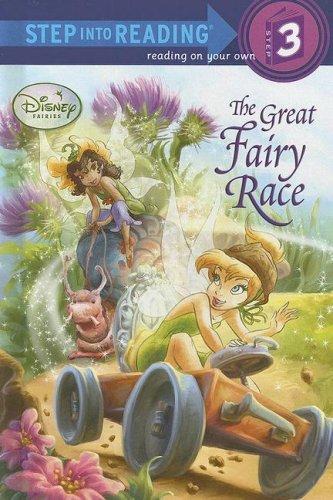9780736480604: The Great Fairy Race (Disney Fairies) (Step into Reading)