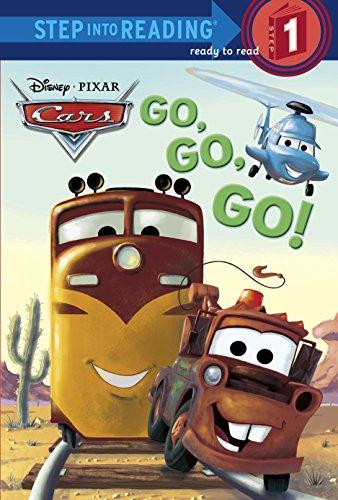 9780736480918: Go, Go, Go! (Disney/Pixar Cars) (Step into Reading)
