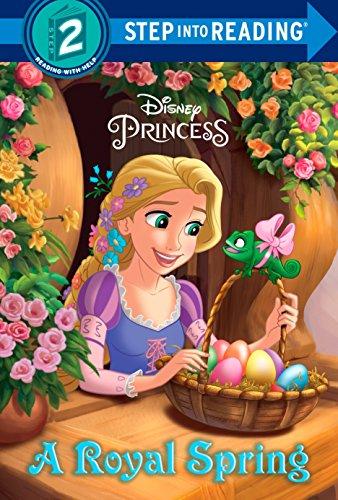 9780736482134: A Royal Spring (Disney Princess) (Step into Reading)