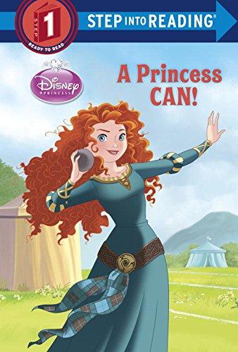 A Princess Can! (Disney Princess) (Step into Reading): Jordan, Apple