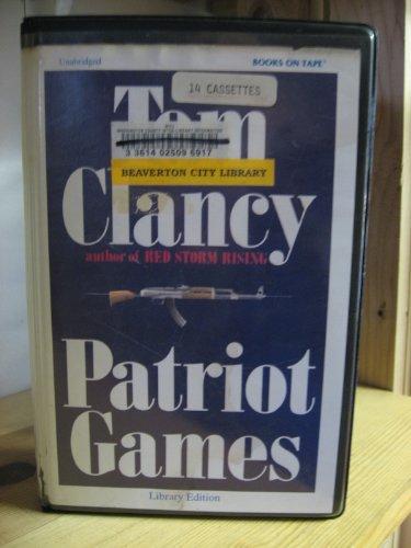 9780736612371: Patriot Games Unabridged