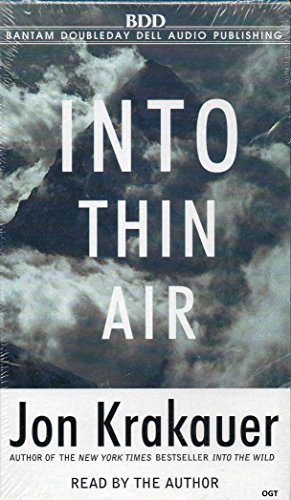 9780736637541: Into Thin Air : A Personal Account of the Mount Everest Disaster