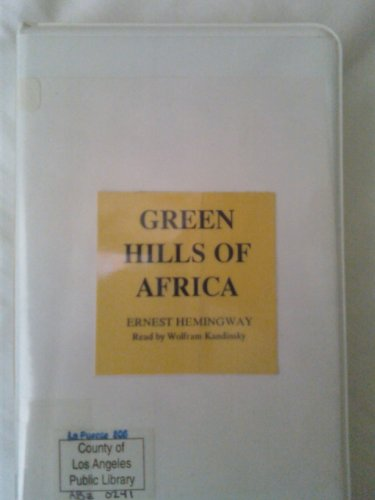 Green Hills of Africa (0736656758) by Ernest Hemingway