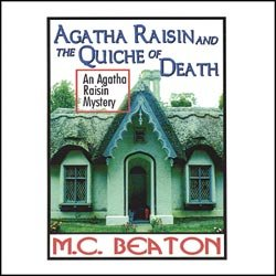 9780736685320: Agatha Raisin: Quiche(lib)(CD)