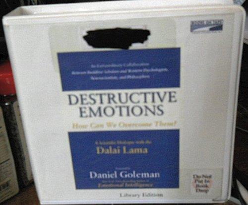 9780736692328: Destructive Emotions (Lib)(CD)