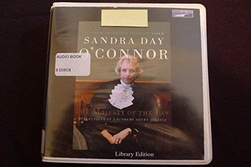 Majesty of the Law, (Lib)(CD) (0736693289) by Sandra Day O'Connor