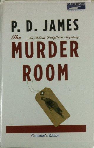 THE MURDER ROOM an Adam Dalgliesh Mystery: JAMES, P.D. Read