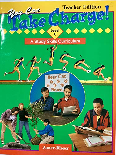 9780736700047: You Can Take Charge, Level C: A Study Skills Curriculum (Teacher Edition)