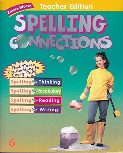 9780736700535: Spelling Connections:Teacher Edition: Grade 6