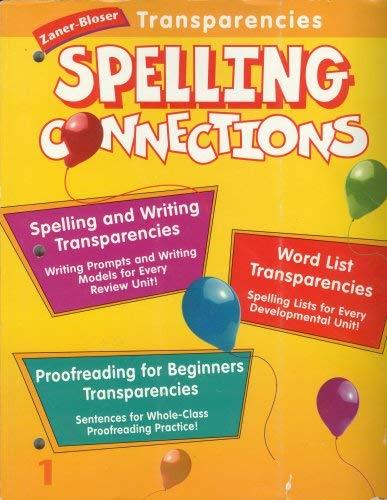 9780736700641: Spelling Connections Grade 1; Zaner-Bloser Transparencies