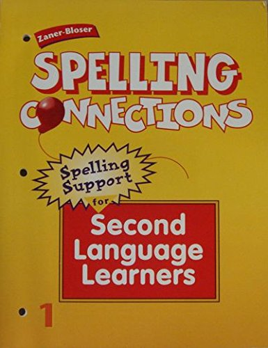 9780736700870: Spelling Connections Grade 1 Spelling Support Second Language Learners