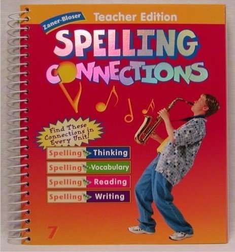9780736701181: Zaner Bloser: Spelling Connections, Teacher Edition, Grade 7