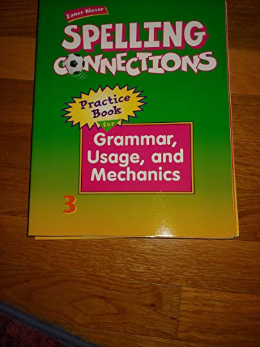 9780736709354: Spelli Ng Connections Practice Book for Grammar, Usage, and Mechanics 3