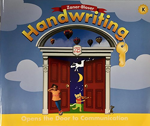 9780736712095: Zaner-Bloser Handwriting, Grade K: Opens the Door to Communication