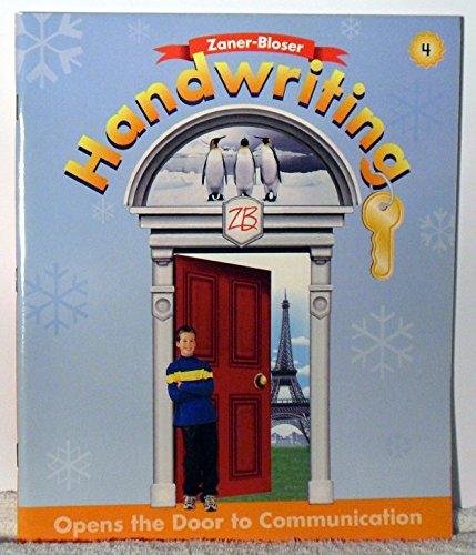 9780736712149: Handwriting, Level 4: Opens the Door to Communication