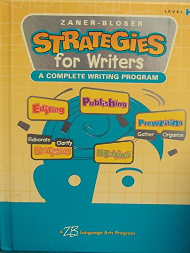 9780736712385: Strategies for Writers: Grade 8, Level H