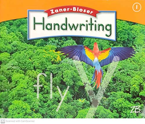 9780736715164: Zaner-Bloser Handwriting Grade 1 (Transparencies)
