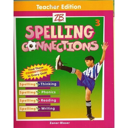9780736720779: Spelling Connections Grade 3 (Teacher Edition)